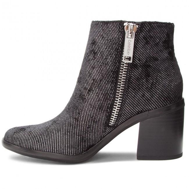 Stiefeletten CALVIN KLEIN JEANS - Volise RE9783 Black - Boots - Stiefel und andere - Damenschuhe mTLs9k92