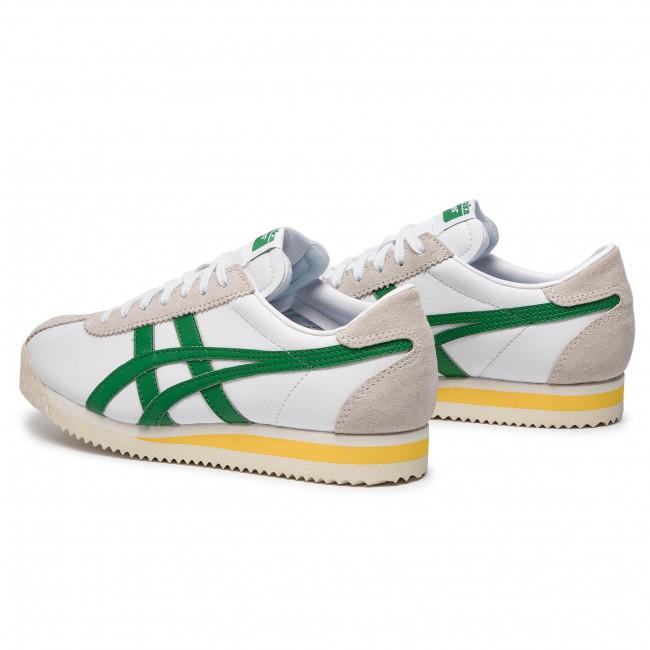 Sneakers ONITSUKA TIGER - Corsair 1183A357 White/Green 101 - Sneakers - Halbschuhe - Damenschuhe I3yQolkf
