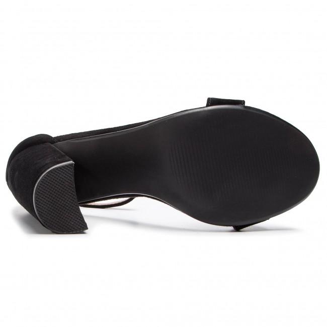Sandalen STEVE MADDEN - Carrson SM11000008-03002-015 Black Suede - Alltägliche Sandalen - Sandalen - Pantoletten und Sandaletten - Damenschuhe nvxuAG3r