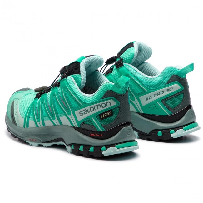 Schuhe SALOMON Xa Pro 3D Gtx W GORE TEX 406722 20 V0 Electric GreenVivid GreenIcy Morn