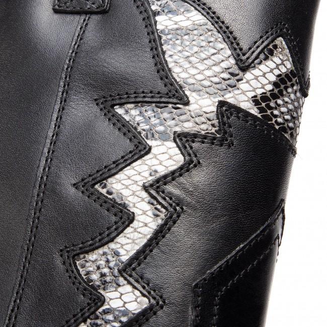 Stiefeletten BRONX - 34106-DJ BX 1217 Black/White 203 - Boots - Stiefel und andere - Damenschuhe Z9BqNroJ