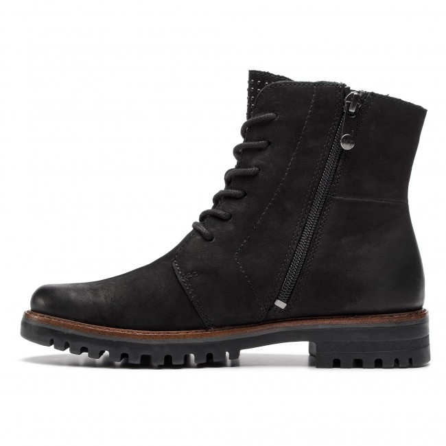 Stiefeletten MARCO TOZZI - 2-25215-21 Black Ant.Comb 096 - Boots - Stiefel und andere - Damenschuhe dLAF5OT1