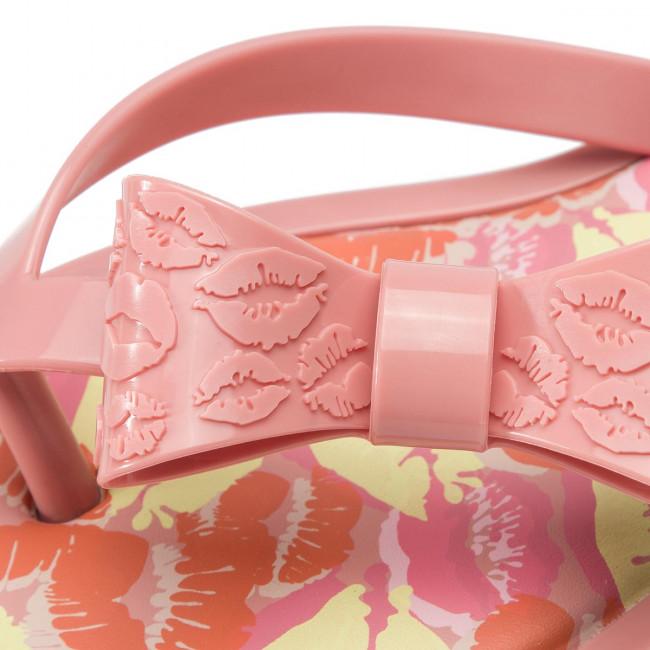 Zehentrenner MELISSA - Flip Flop Kisses Ad 32579 Pink 51419 - Zehentrenner - Pantoletten und Sandaletten - Damenschuhe W6srnvtI