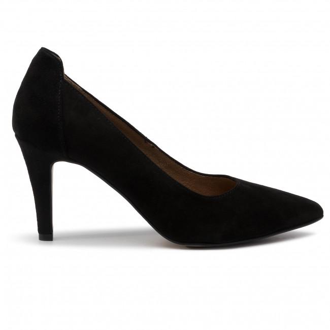 High Heels TAMARIS 1 22445 23 Black Suede 004