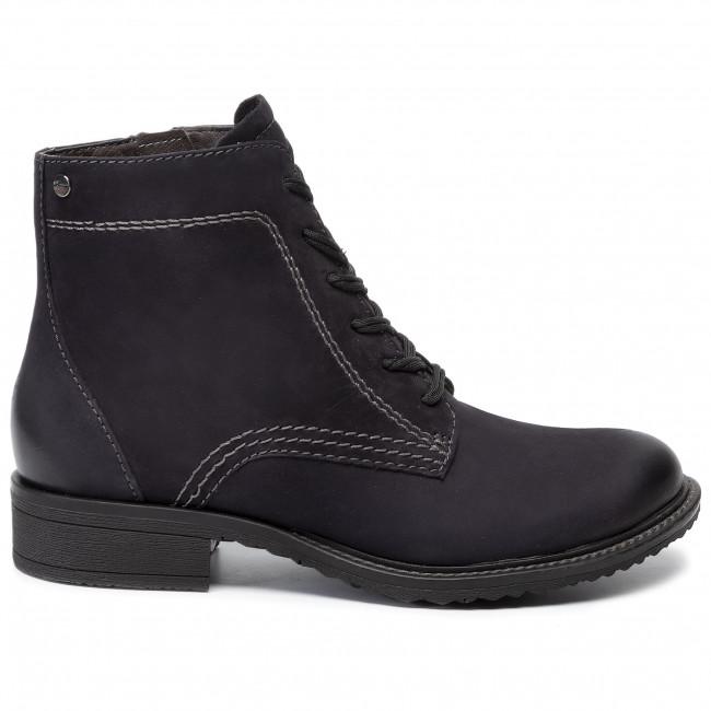 Stiefeletten TAMARIS - 1-25210-23 Navy Nubuc 827 - Boots - Stiefel und andere - Damenschuhe TPztSxif