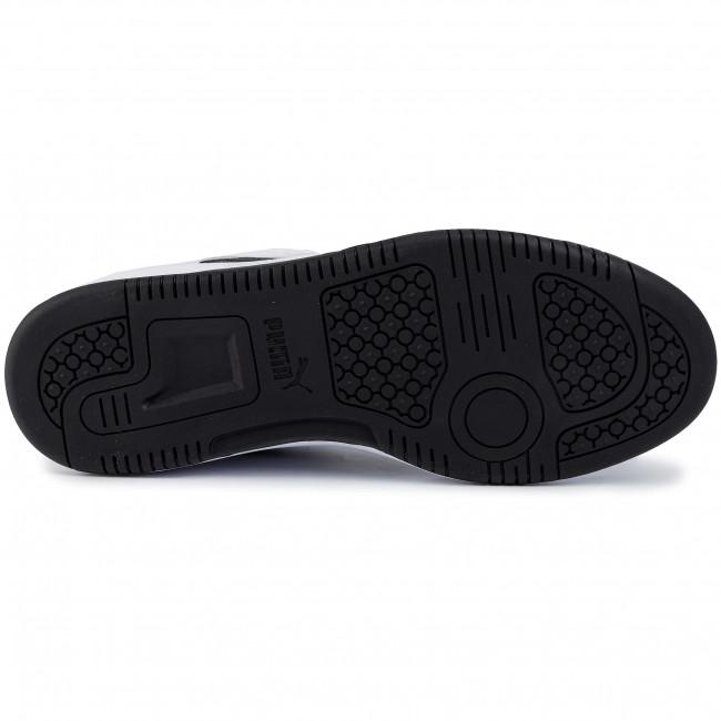 Sneakers PUMA - Rebound Layup Lo Sl 369866 01 White/Black/High Risk Red - Sneakers - Halbschuhe - Herrenschuhe qLk6lPTO
