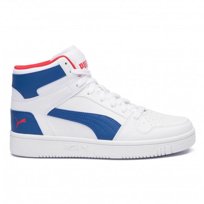 Sneakers PUMA Rebound Layup Sl Jr 370486 05 WhiteGalaxyBlueRed