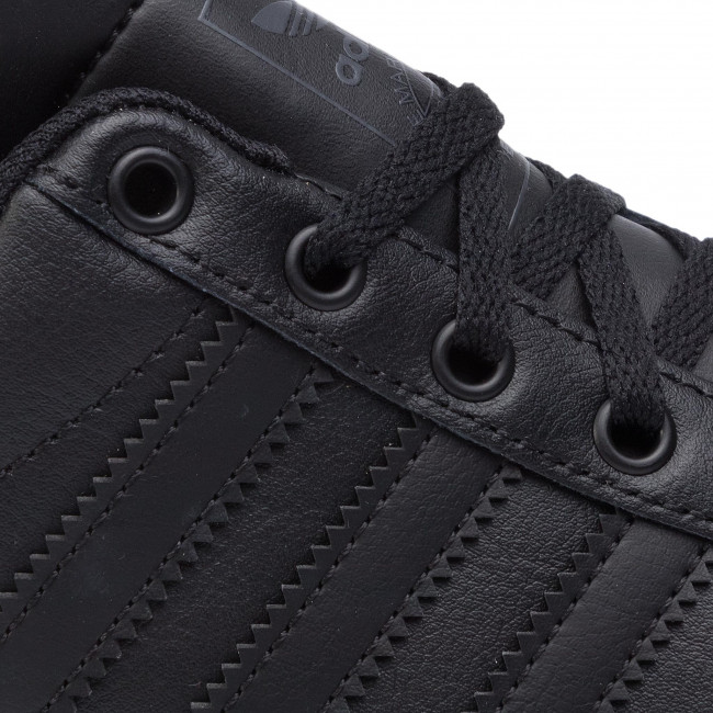 Schuhe adidas - Coast Star J EE9700 Cblack/Cblack/Gresix - Schnürschuhe - Halbschuhe - Mädchen - Kinderschuhe DUhIdInJ