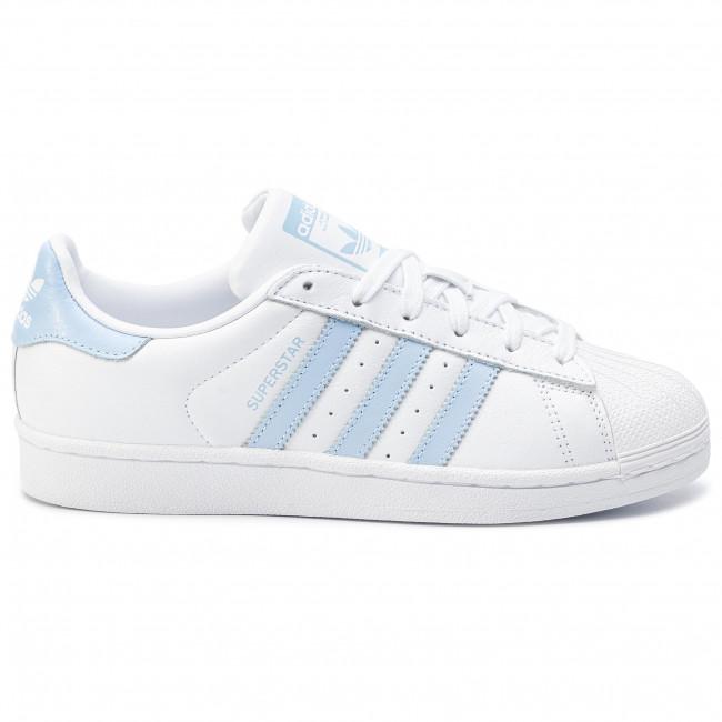 Rabatt Neuerscheinungen Adidas Superstar Schuhe blau zu