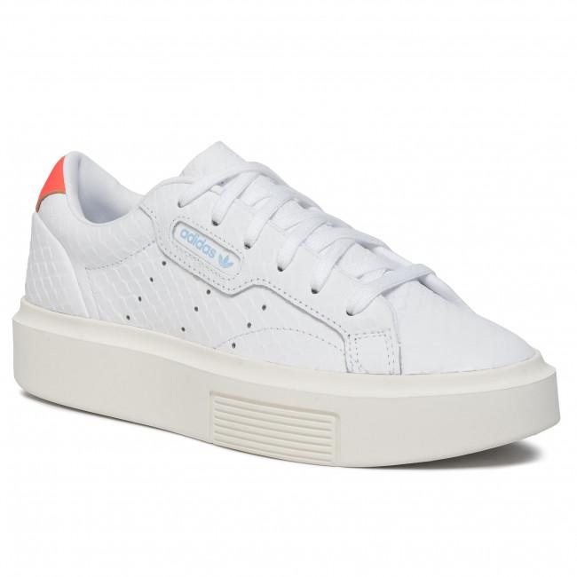 Schuhe adidas Sleek Super W EF1897 FtwwhtFtwwhtSolred