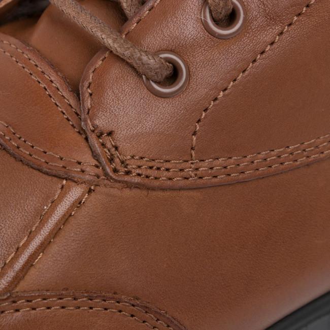 Stiefeletten LAUREN RALPH LAUREN - Dabney 802767055003 Deep Saddle Tan/Cream - Boots - Stiefel und andere - Damenschuhe pxQC9wOO