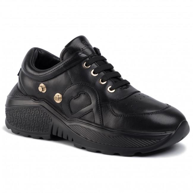 Sneakers AIGNER - Jenny 10 192450 Black 001 - Sneakers - Halbschuhe - Damenschuhe STF1FJah