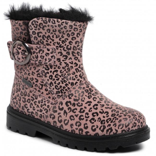 ADIDAS STIEFELETTEN STIEFEL Schuhe Kinder beige rosa Fell