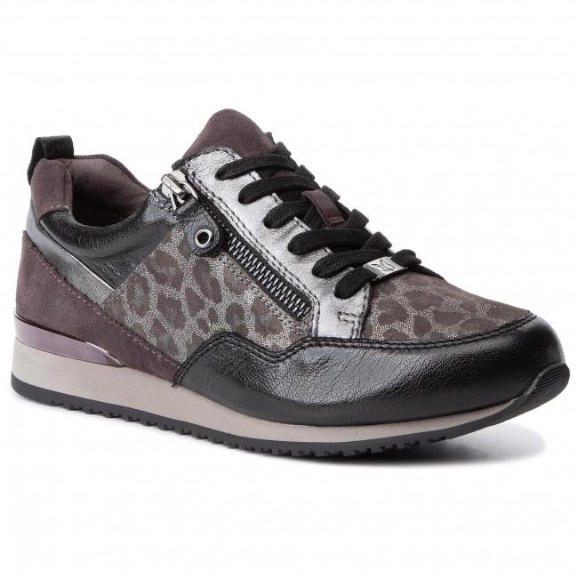Sneakers CAPRICE 9 23600 23 Grey Leo Comb 294