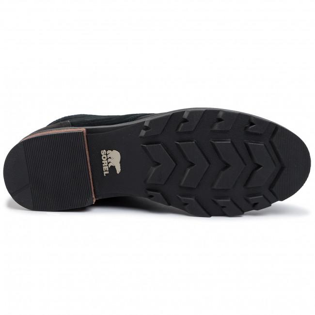 Stiefeletten SOREL - Emelie Short Lace NL3309 Black 010 - Boots - Stiefel und andere - Damenschuhe Fn1YVQ8Q
