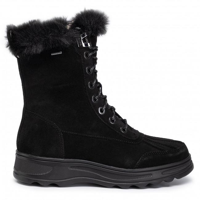 D94aub Geox B Stiefeletten Abx Black Hosmos D 00022 C9999 TJlF1cK3