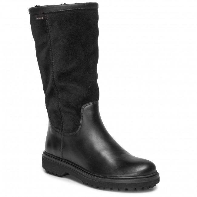 Stiefel GEOX D Asheely Np Abx D D94AYD 0FF22 C9999 Black
