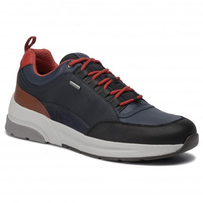 Sneakers GEOX U Rockson B Abx A U947WA 046K4 C9369 BlackDk Avio