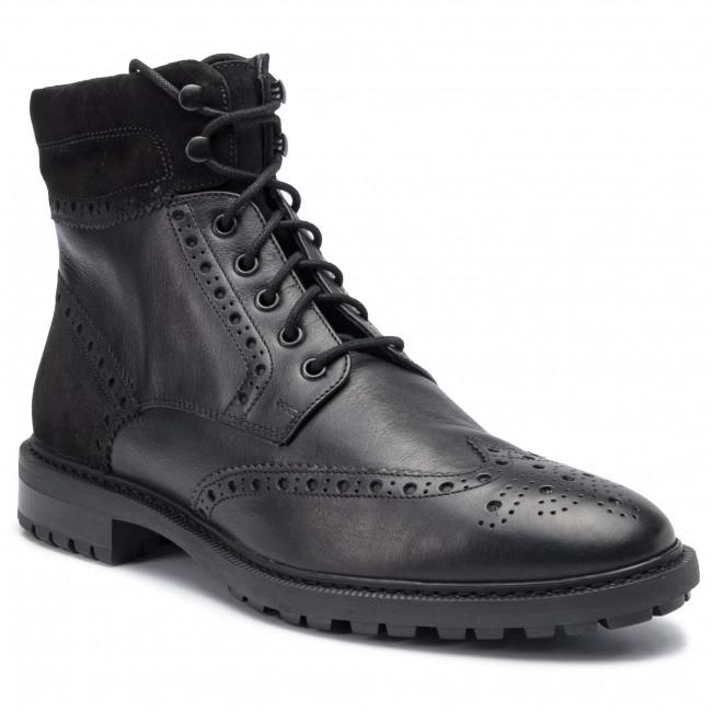 U948aa Geox C9999 U A 04622 Black Stiefel Brenson Nn0wm8
