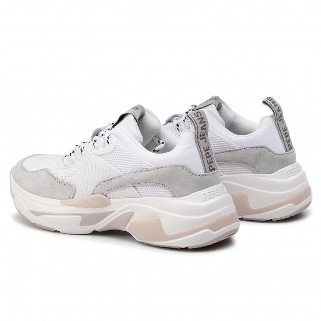 Sneakers PEPE JEANS Sinyu Snow PLS30938 White 800