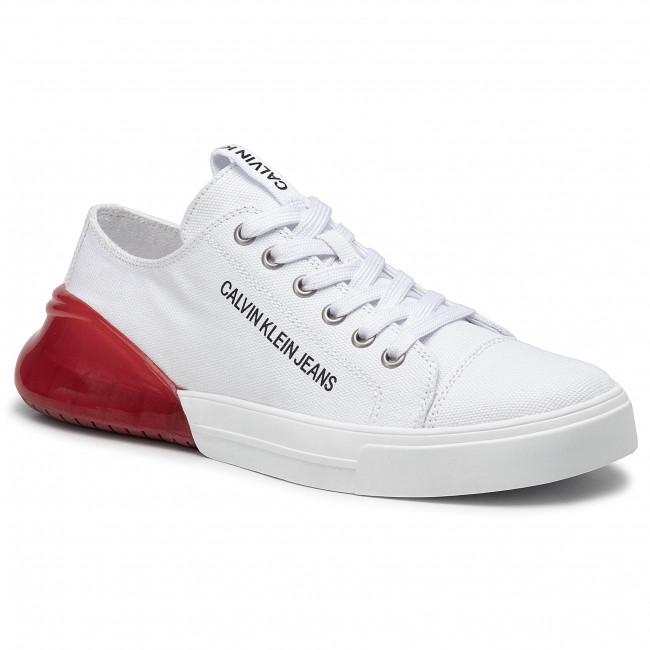 Sneakers CALVIN KLEIN JEANS Munro B4S0080 WhiteRed