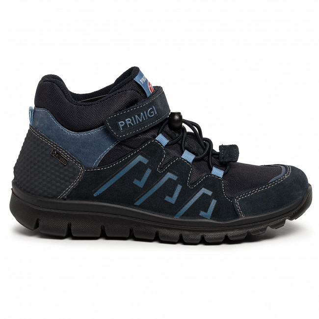 Schnürschuhe PRIMIGI Blau Leder Textil Kinder Schuhe Primigi