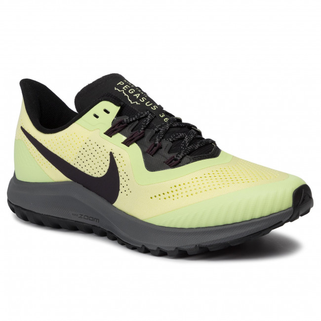 Schuhe NIKE Air Zoom Pegasus 36 Trail AR5677 300 Luminous GreenBurgundy Ash