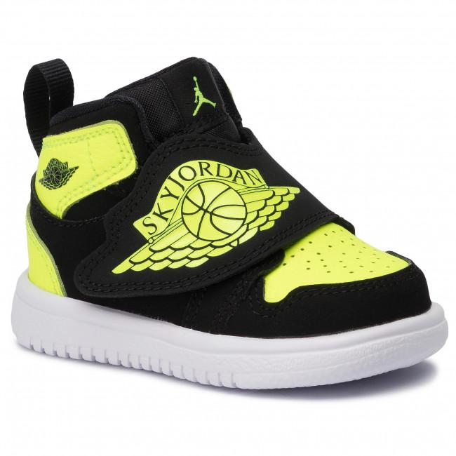 007 Sky Schuhe BlackVoltWhite 1TdBQ7196 NIKE Jordan 4ARL5cjq3S