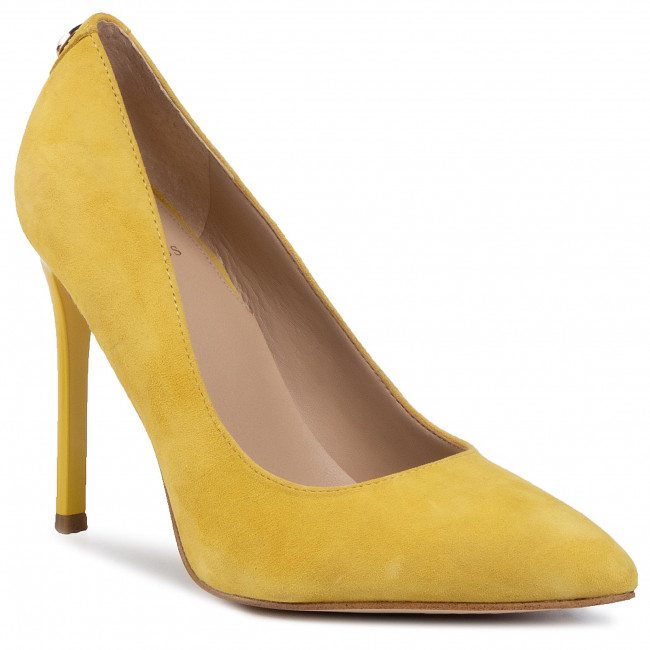 High Heels GUESS - Crew4 FL5CR4 SUE08  YELLOW