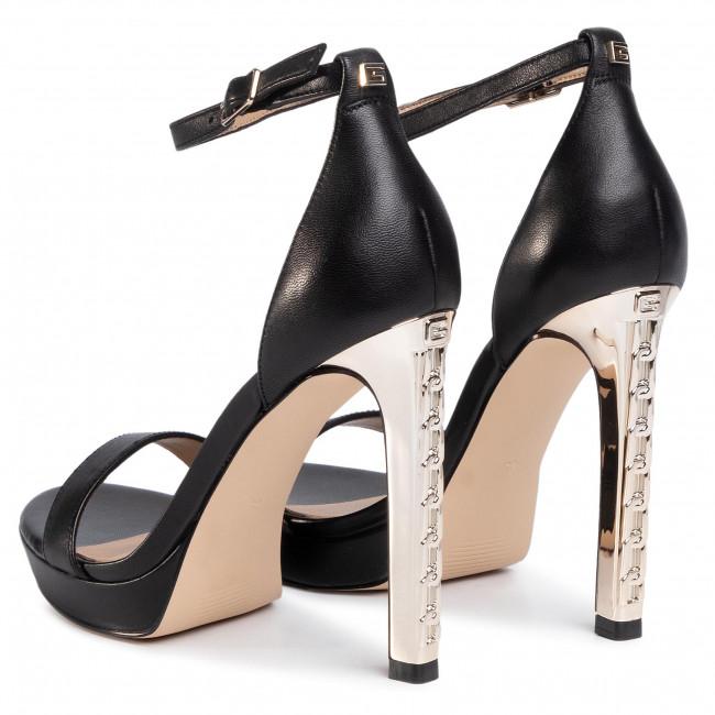 Sandalen GUESS - Eiry FL6EIY LEA03 BLACK - Elegante Sandalen - Sandalen - Pantoletten und Sandaletten - Damenschuhe Or6J4bna