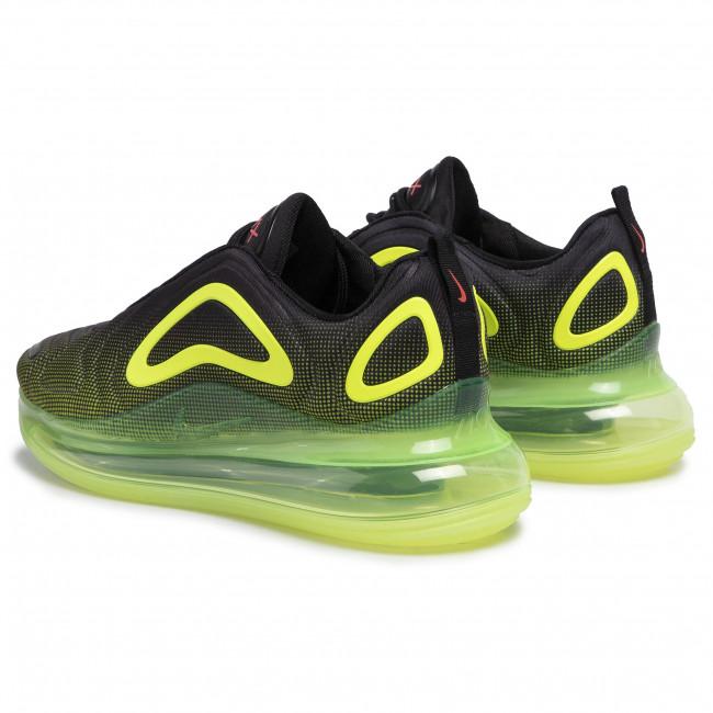 Schuhe NIKE Air Max 720 AO2924 008 BlackBright CrimsonVolt