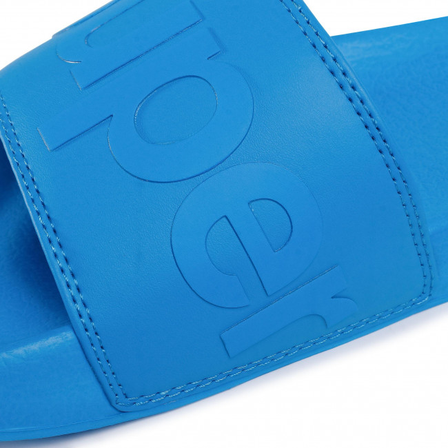 Pantoletten SUPERDRY - City Neon Pool Slide MF310020A Electric Blue 89G - Pantoletten - Pantoletten und Sandaletten - Herrenschuhe hw9EkHZP