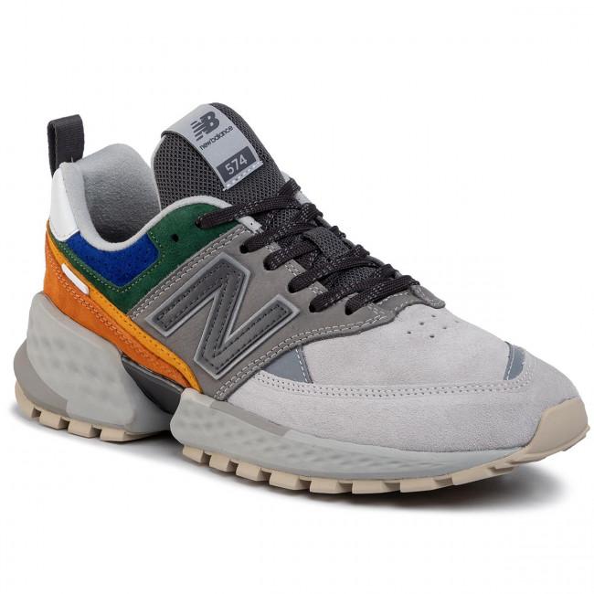 Sneakers NEW BALANCE MS574APG Bunt Grau