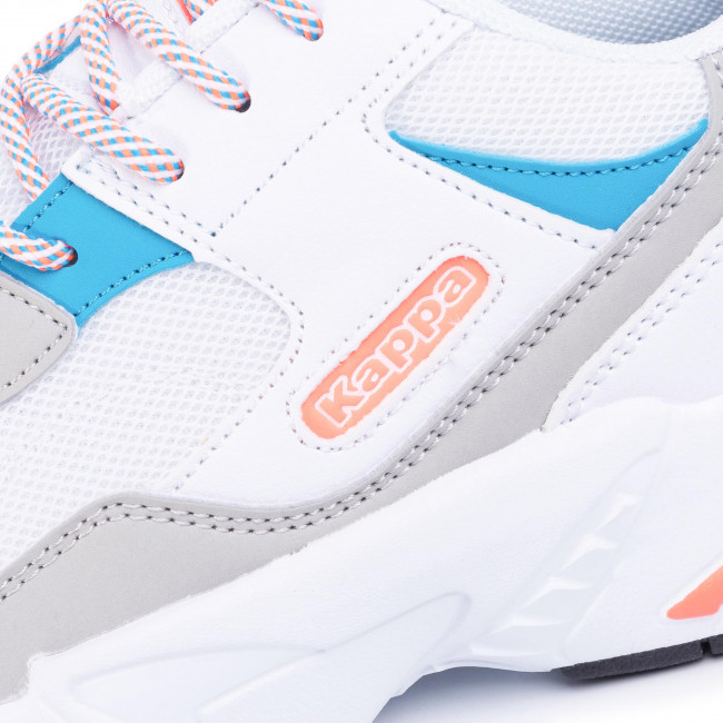Sneakers KAPPA - Boiz 242857 White/Orange 1044 - Sneakers - Halbschuhe - Herrenschuhe zgSoPux2