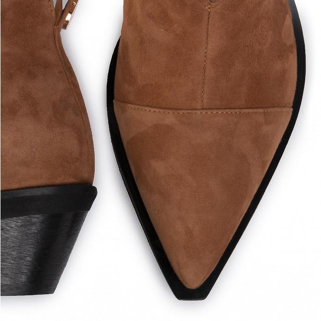 Stiefeletten BALDOWSKI - D02662-SKV1-008 Zamsz Nowy Rudy 110 - Boots - Stiefel und andere - Damenschuhe JZiYa8bu
