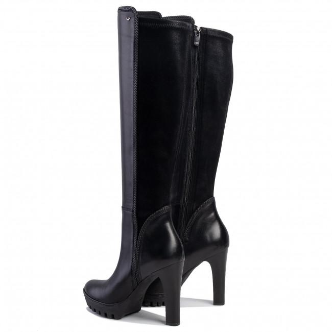 Stiefel WOJAS - 8745-91 Schwarz - Stiefel - Stiefel und andere - Damenschuhe JTy0l6CM