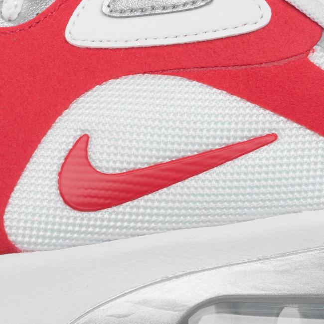 Schuhe NIKE - Air Max 200 AQ2568 100 White/University Red - Sneakers - Halbschuhe - Herrenschuhe u2zSottT