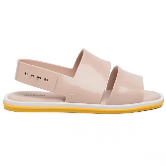 Sandalen MELISSA - Carbon Ad 32688 Beige/Yellow/White 53612 - Alltägliche Sandalen - Sandalen - Pantoletten und Sandaletten - Damenschuhe 9oHGP8nU