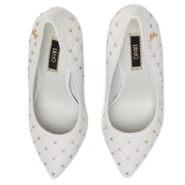 High Heels LIU JO - Adelle 06 Decollete SA0147 EX014 White 01111 - High Heels - Halbschuhe - Damenschuhe zYw0Nqfs
