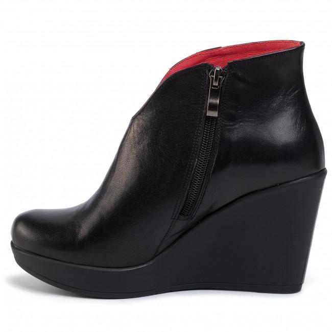 Stiefeletten KARINO - 1415/126-P Czarny - Boots - Stiefel und andere - Damenschuhe kAspYgyV