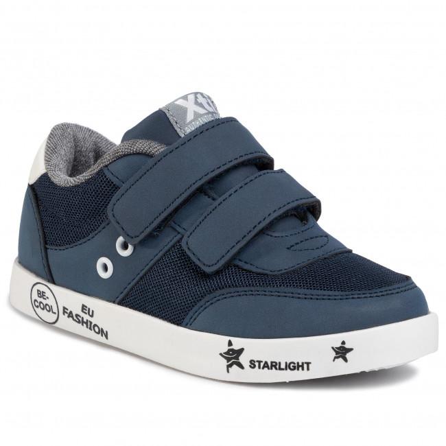 Sneakers XTI - 57338 Nude - Schnürschuhe - Halbschuhe