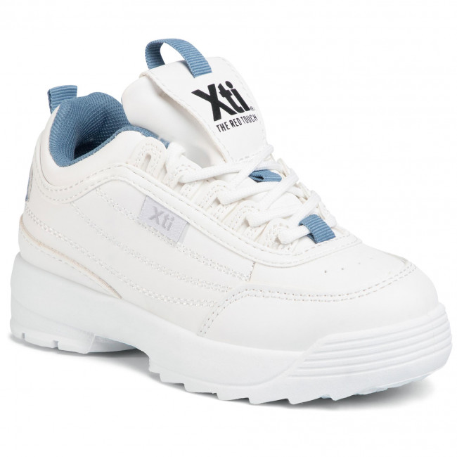 Sneakers XTI - 57042 Navy - Klettverschluss - Halbschuhe