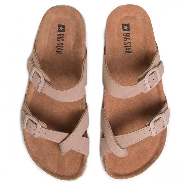 Zehentrenner BIG STAR - FF274642 Pink - Zehentrenner - Pantoletten und Sandaletten - Damenschuhe I7Z8y2H2