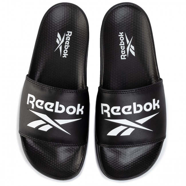 Pantoletten Reebok - Classic Slide EH0667 Black/White/None - Pantoletten - Pantoletten und Sandaletten - Herrenschuhe w64OV941
