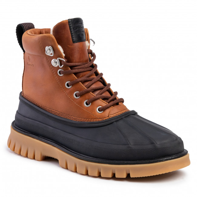 Trapperschuhe GANT - Colorado 19641956 Black/Cognac G000