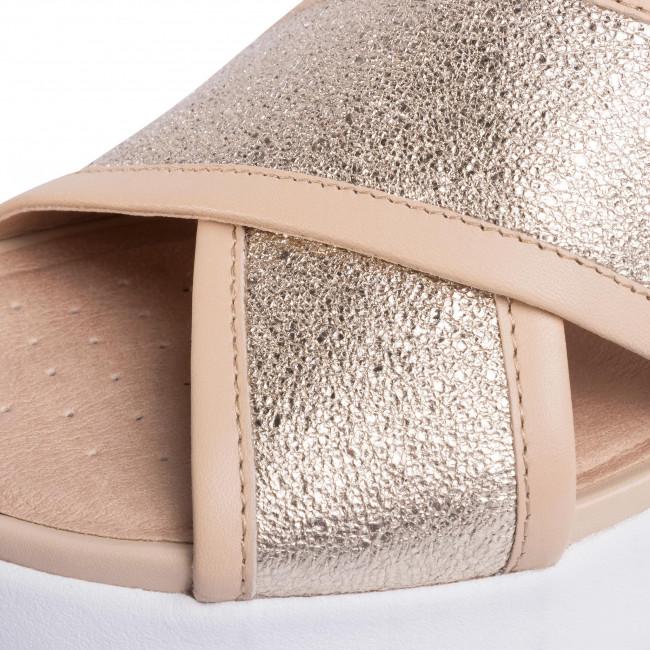 Sandalen GEOX - D Ottaya Sand A D92CMA 0KY85 C2217 Gold/Sand - Alltägliche Sandalen - Sandalen - Pantoletten und Sandaletten - Damenschuhe icI2Fa68