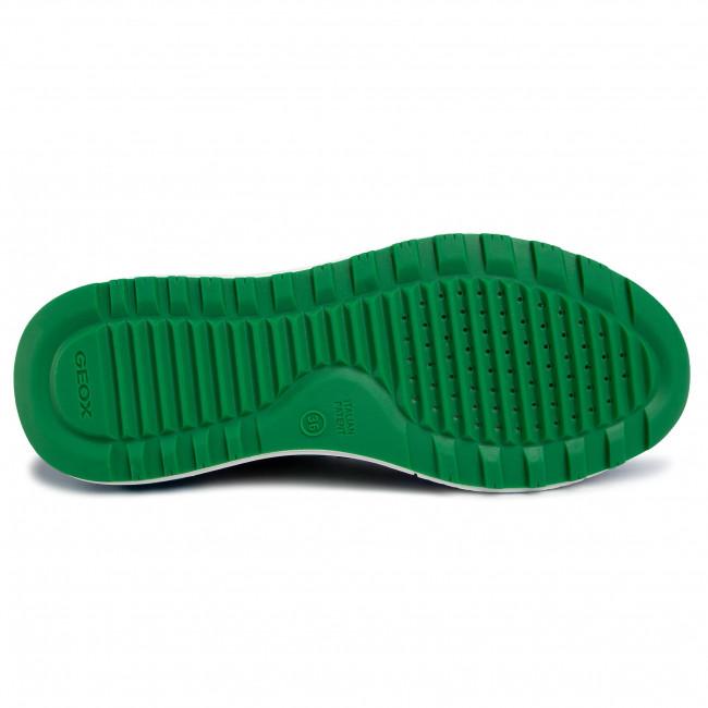 Sneakers GEOX - J Alben B. D J949ED 01422 C4165 S Royal/Green - Schnürschuhe - Halbschuhe - Jungen - Kinderschuhe anm4mt1g
