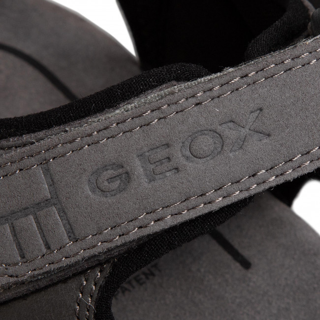 Sandalen GEOX - U S.Strada A U4224A 0AU54 C1006 Grey - Sandalen - Pantoletten und Sandaletten - Herrenschuhe 25pFzrza