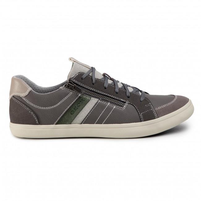 Sneakers GEOX - U Halver A U023AA 000ME C9004 Anthracite - Sneakers - Halbschuhe - Herrenschuhe dNBUgdvg