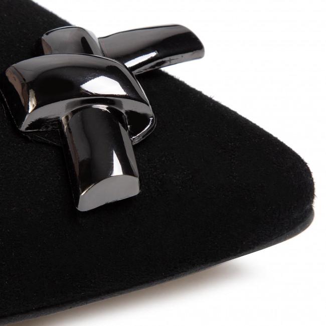 Sandalen KARINO - 3228/003-P Czarny/Welur - Elegante Sandalen - Sandalen - Pantoletten und Sandaletten - Damenschuhe 38urtmZm